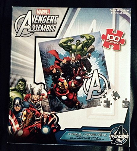 Avengers Assemble, Iron Man, Hulk, Thor, Black Widow - 1