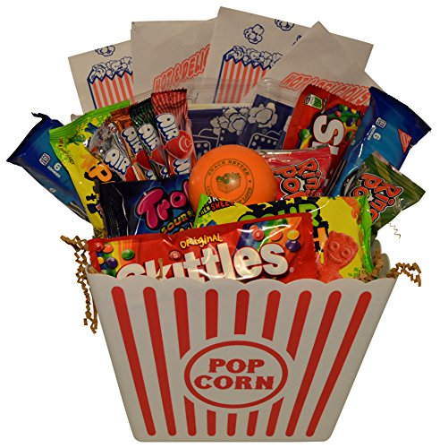 Ultimate movie night gift bundle care package easter basket ultimate movie night gift bundle care package easter basket christmas present valentines day with popcorn candy cookies plus snack better stress ball negle Image collections
