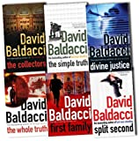 David Baldacci David Baldacci Collection 6 Books Set Pack RRP £41.94 (David Baldacci Collection) (The Collectors, First Family, The Simple Truth, The Whole Truth, Divine Justice, Split Second)