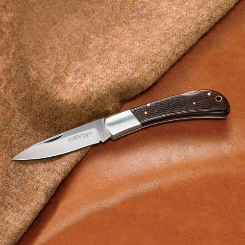 Orvis Guncheck Folding Knife