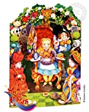 Santoro Graphics Swing Card / Greeting Card - Alice in Wonderland - SC49
