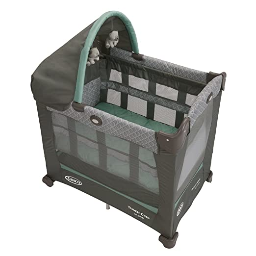 Best Pack and Play Reviews - Graco Travel Lite Crib with Stages, Manor