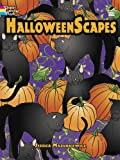 img - for HalloweenScapes (Dover Holiday Coloring Book) book / textbook / text book