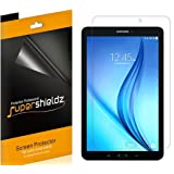 [3-Pack] Supershieldz for Samsung Galaxy Tab E 9.6 inch, Anti-Bubble High Definition Clear Shield + Lifetime Replacements Warranty- Retail Packaging (Color: Clear)