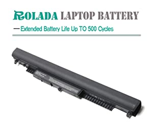 ROLADA HS03 HS04 Notebook Battery Replacement for HP 240 G4, 245 G4, 250 G4, 255 G4, 256 G4,15-AC130DS 15-AF087NW 15-AF093NG; P/N:807956-001 807957-001 807612-421 HSTNN-LB6U HSTNN-LB6V N2L85AA 807611