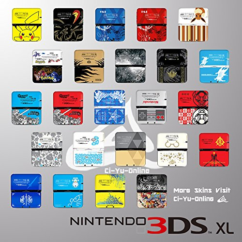 Pokemon Charizard Black Limited Edition VINYL SKIN STICKER DECAL COVER for Nintendo 3DS XL / LL Console System