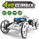 WomToy 4WD Car Toy Assembly Kit, Four-Wheel Drive DIY Climbing Vehicle Electric Off-Road Car Circuit Building Projects for Kids & Teens
