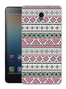 "Aztec Print Tribal Pattern Printed Designer Mobile Back Cover For ""Lenovo S860"" By Humor Gang (3D, Matte Finish, Premium Quality, Protective Snap On Slim Hard Phone Case, Multi Color)"