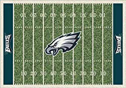 "Philadelphia Eagles 3' 10"" x 5' 4"" NFL Home Field Area Rug"