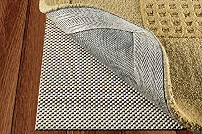 Non Slip Rug Pad Exstra Strong Grip Thick Padding And Multiple Sizes Available