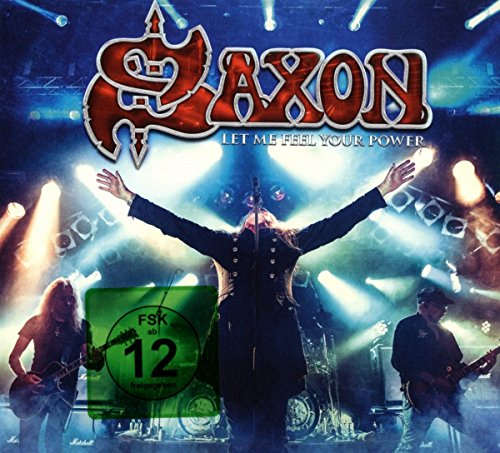 Saxon - Let Me Feel Your Power (2 Cd+Blu-Ray)