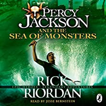 The Sea of Monsters: Percy Jackson, Book 2 (       UNABRIDGED) by Rick Riordan Narrated by Jesse Bernstein