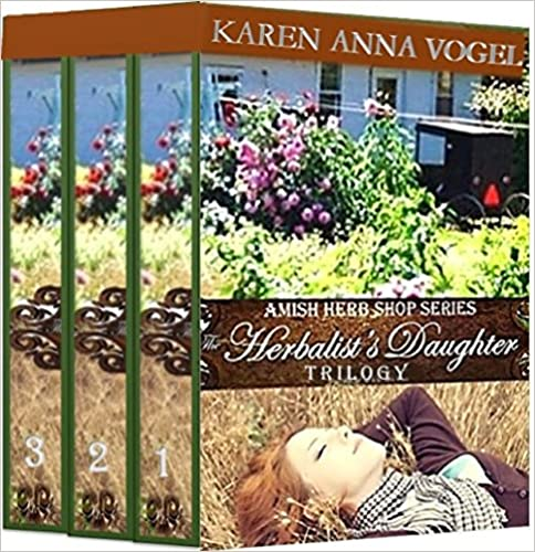The Herbalist's Daughter Trilogy (Amish Herb Shop Series Books 1-3) Boxed Set