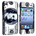 eForCity Hundred Dollar Benjamin 2d Hard Snap-on Crystal Skin Case Cover Accessory Compatible with Ipod Touch� 4th Generation 4g 4 8gb 32gb 64gb New