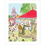 The Enormous Crocodile by Roald Dahl, Illustration by Quentin Blake (Mini Print)