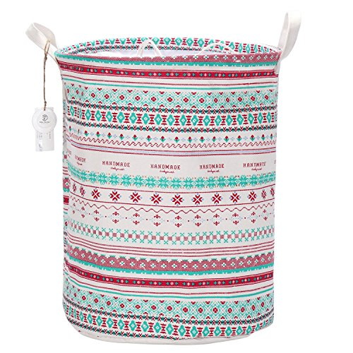 sea-team-drawstring-bohemia-storage-basket-for-nursery-toys-laundry-more-easy-cinch-closure-convenie