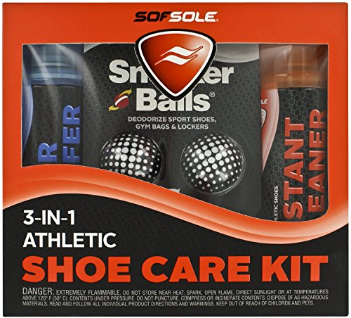 Sof Sole 3-IN-1 Athletic Care Kit (Athletic Shoe Cleaner compare prices)