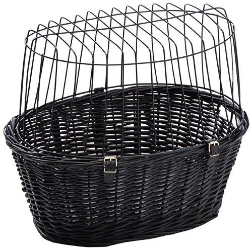 Trixie-2818-Fahrradkorb-mit-Gitter-50--41--35-cm