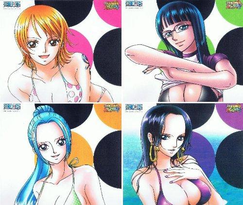 One Piece Nami Vivi Robin