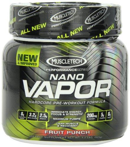 MuscleTech MuscleTech naNO Vapor Perforamance Series, Fruit Punch, 1.23lb., Pre-Workout Powder with Citrulline Mallate