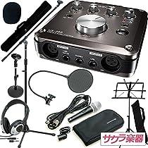 TASCAM タスカム オーディオインターフェイスセット US-366-SC サクラ楽器オリジナル 究極のレコーディングセット