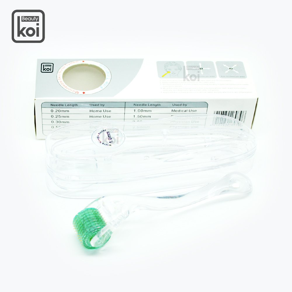 Koi Beauty 192 Derma Face Tool Roller Titanium (0.5mm)