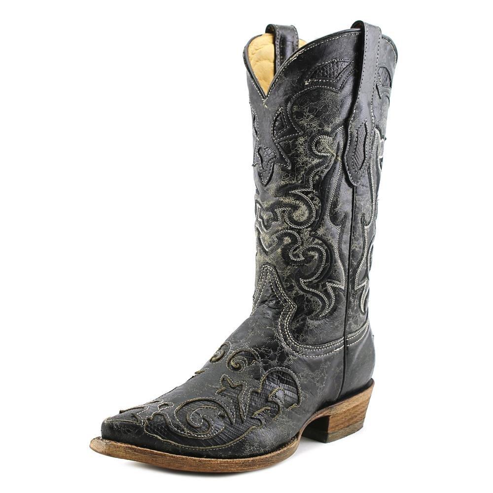 Corral Men S Vintage Lizard Inlay Cowboy Boots