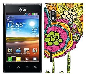 WOW Printed Designer Mobile Case Back Cover For LG Optimus L5 Dual E615