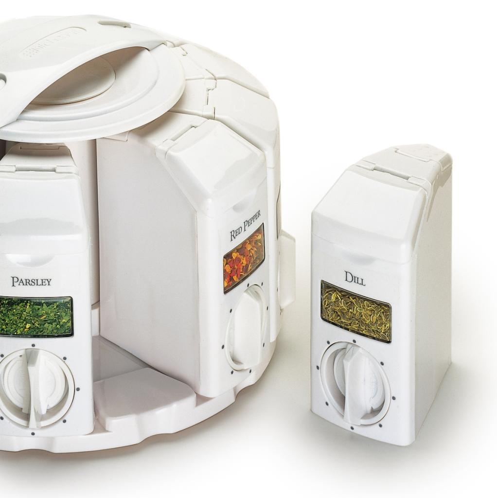 Amazon.com: KitchenArt 25000 Auto Measure Spice Carousel