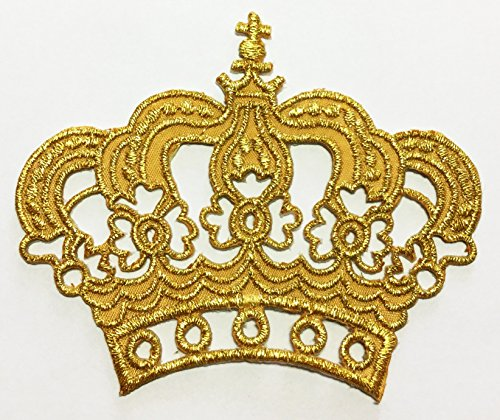 gold-king-queen-crown-diy-embroidered-sew-iron-on-patch-p246