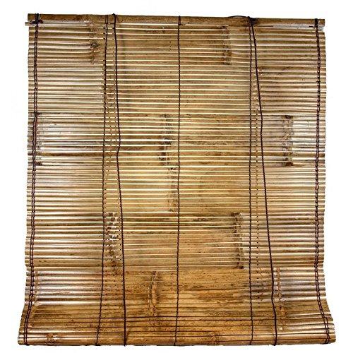 Persiana bamb natural exterior - Estores exteriores enrollables ...