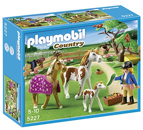 playmobil-5227-country-pony-farm-paddock-with-horses-and-pony