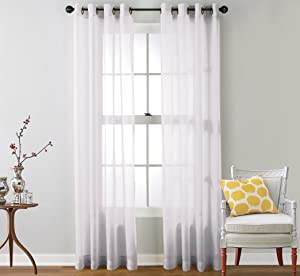 Grey Solid Grommet Top Thermal Insulated Blackout Curtains Set: 104