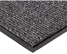 Notrax 132 Estes Entrance Mat, for Main Entranceways and Heavy Traffic Areas, 3\' Width x 6\' Length x 3/8\