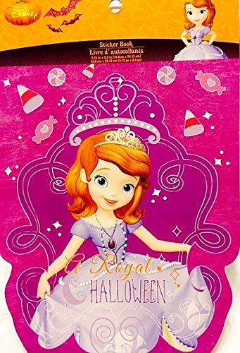 Disney Princess Sofia Halloween Royal Stickers - 5 Sheets - 1