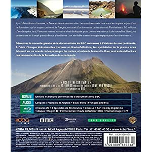 Terre : Le choc des continents [Blu-ray]