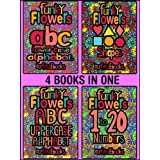 Funky Flowers - 4 BOOKS IN 1 - Learning collection (My First Ebooks)by Funky Flowers