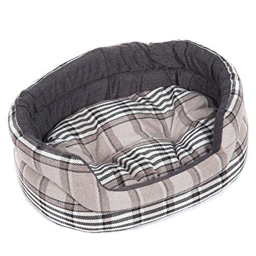 Favorite Circular Soft Warm Indoor Puppy Dog Cat Sleeping Pad Bed Cushion with Removable Mat