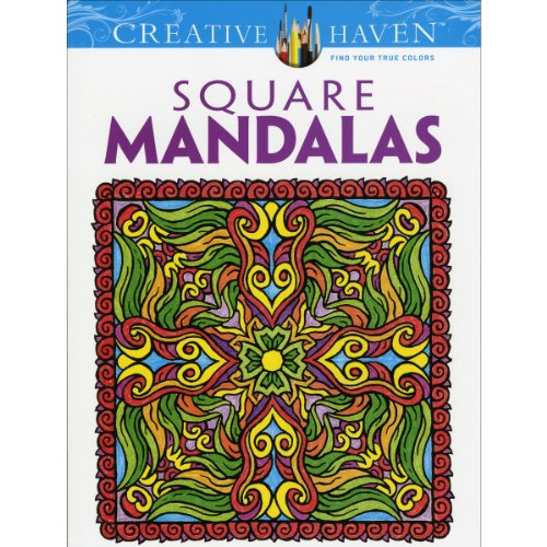 Dover Publications Square Mandalas - 1
