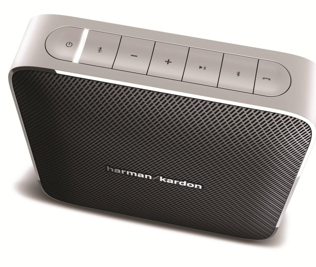 harman kardon esquire portable wireless speaker and. Black Bedroom Furniture Sets. Home Design Ideas