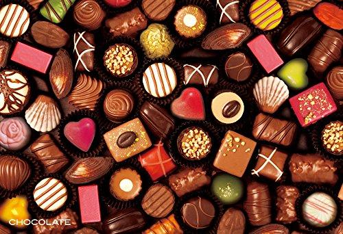 300ピース スイーツジグソー ギフトコレクション チョコレートジグソーパズル(26x38cm)