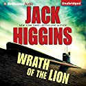 Wrath of the Lion Audiobook by Jack Higgins Narrated by Michael Page
