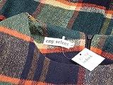 (シーエムワイ セレクト) cmy select マルチ チェック柄 レイヤード ワンピース ポケット付き 長袖 重ね着風