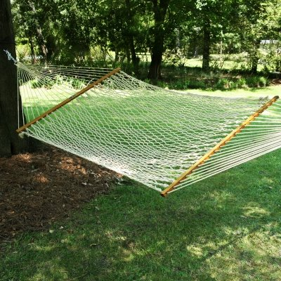 Pawleys Island Original Collection Large DuraCord Rope Hammock, Oatmeal