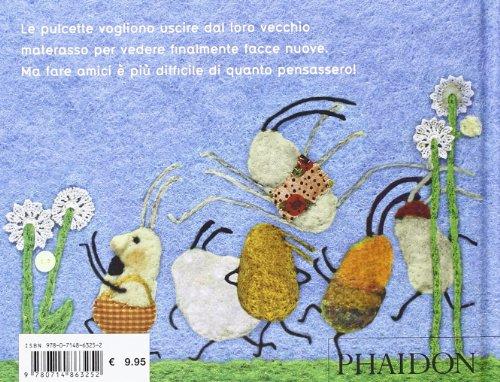 Le pulcette in giardino (Libri per bambini)