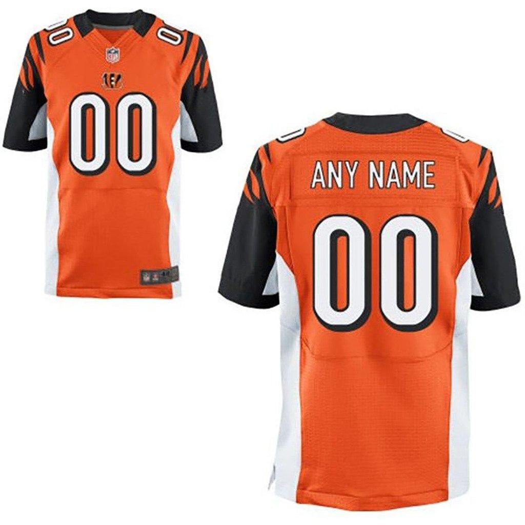 Amazon.com  Man Cincinnati Bengals Customized Elite-orange Jersey . 9c4f891ec