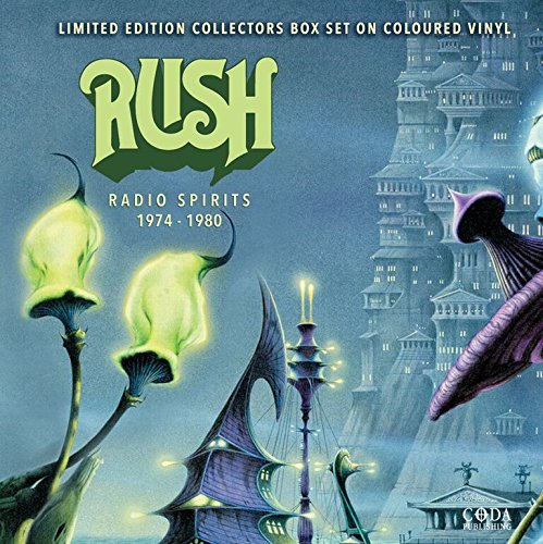 Rush - Radio Spirits 1974 - 1980 [MULTI-COLOURED VINYL 4 DISC BOX SET]