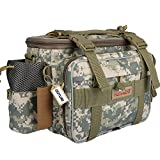 Goture Waterproof Outdoor Fanny Pack Portable Multi-function Canvas Carp Fishing Lure Storage Waist /Shoulder Bag