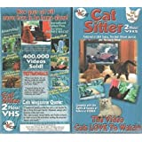 Cat Sitter - 2 Hour VHS - The Video Cats LOVE To Watch ~ D. I. N.