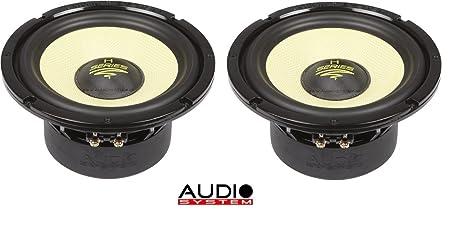 AUDIO sYSTEM aX165C - 4, aUDIO sYSTEM haut-parleur basse-médium/paire